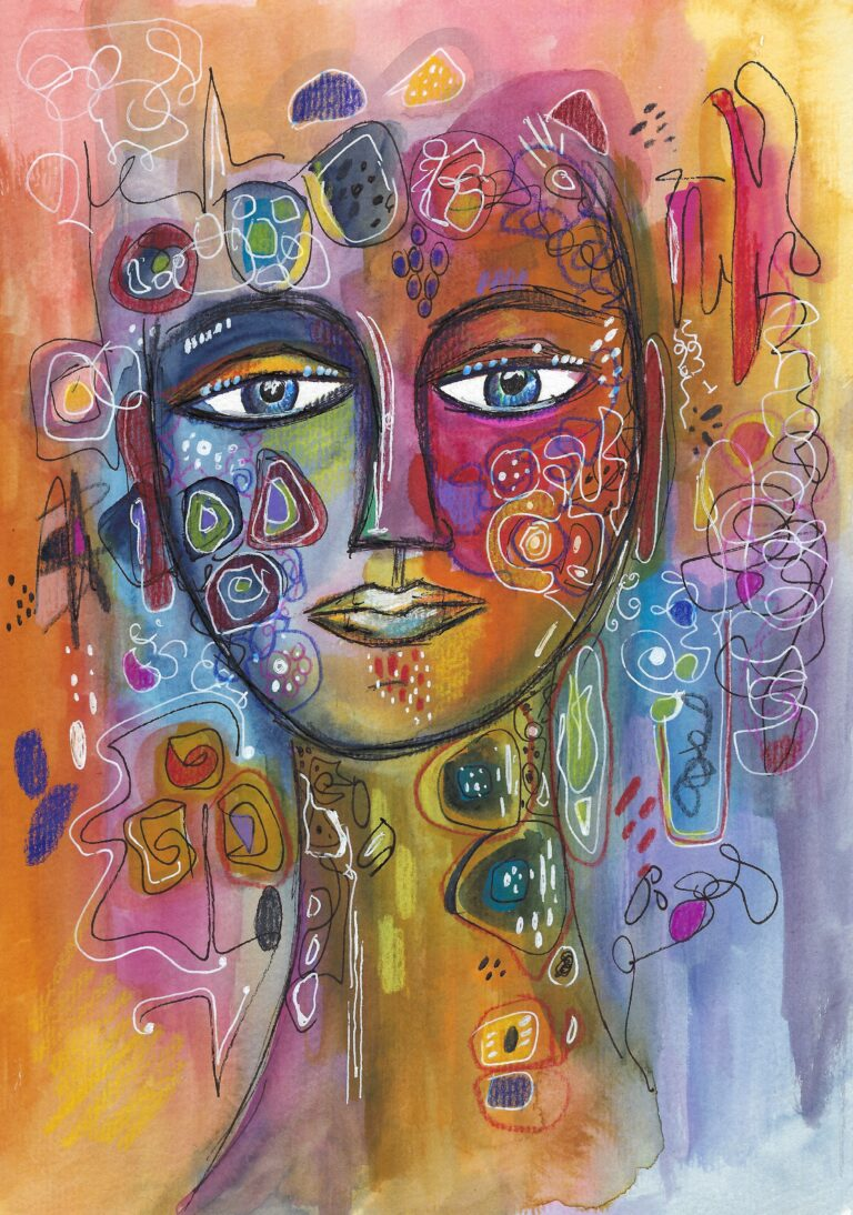 Face abstrakt